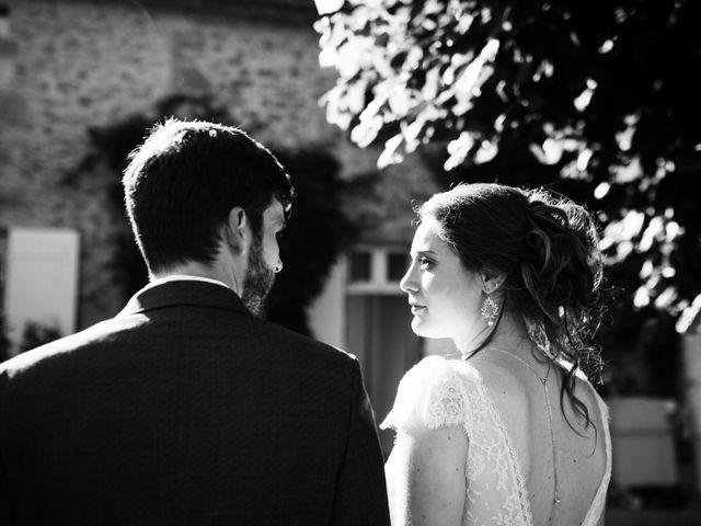 Le mariage de Oscar et Nina à Sainte-Gemme, Gironde 19