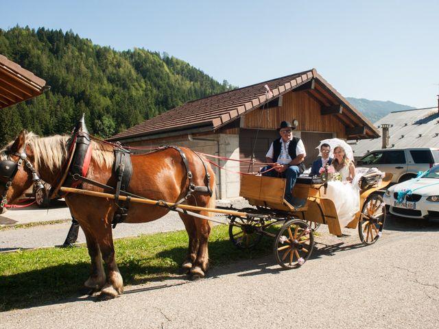 Le mariage de Florian et Elisa à Saint-Cergues, Haute-Savoie 6