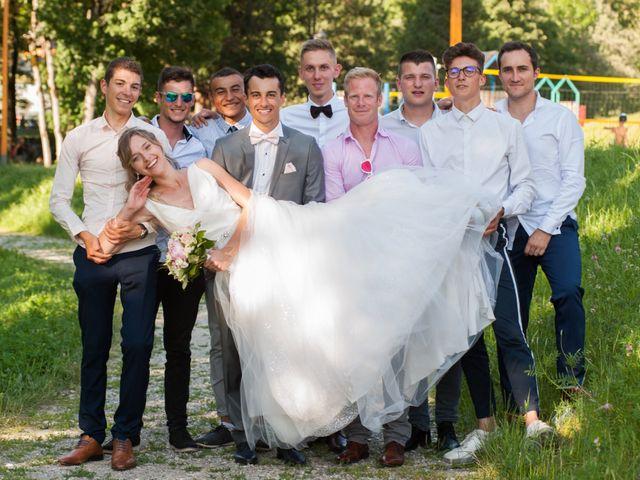 Le mariage de Florian et Elisa à Saint-Cergues, Haute-Savoie 7