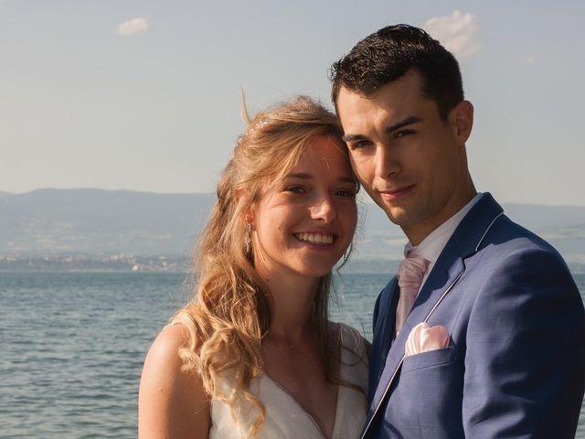 Le mariage de Florian et Elisa à Saint-Cergues, Haute-Savoie 16