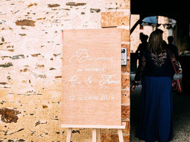 Le mariage de Thomas et Aline à Montreuil-Juigné, Maine et Loire 1