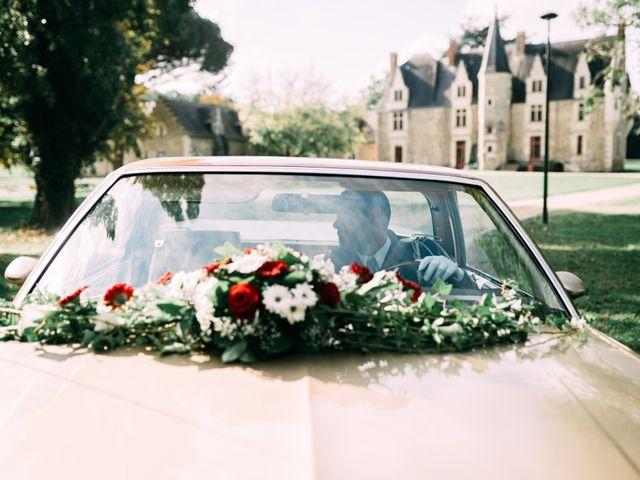 Le mariage de Thomas et Aline à Montreuil-Juigné, Maine et Loire 14