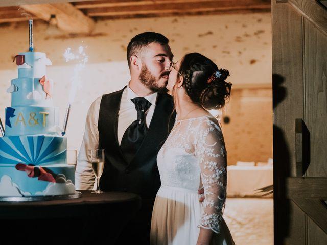 Le mariage de Thomas et Aline à Montreuil-Juigné, Maine et Loire 36