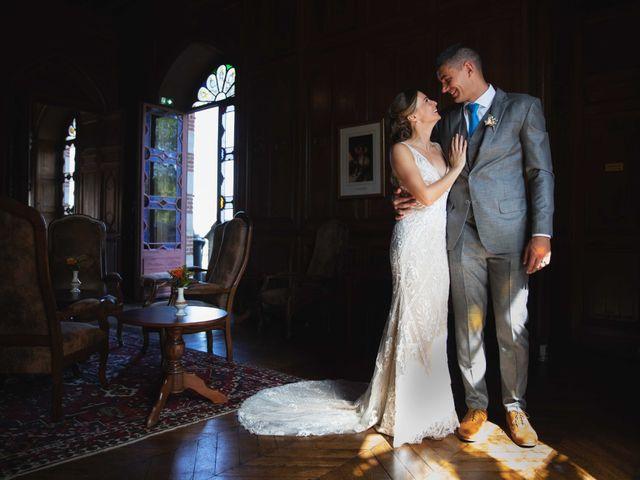 Le mariage de Damian et Katie à Saint-Priest-Bramefant, Puy-de-Dôme 2