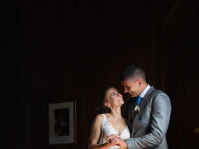 Le mariage de Damian et Katie à Saint-Priest-Bramefant, Puy-de-Dôme 3