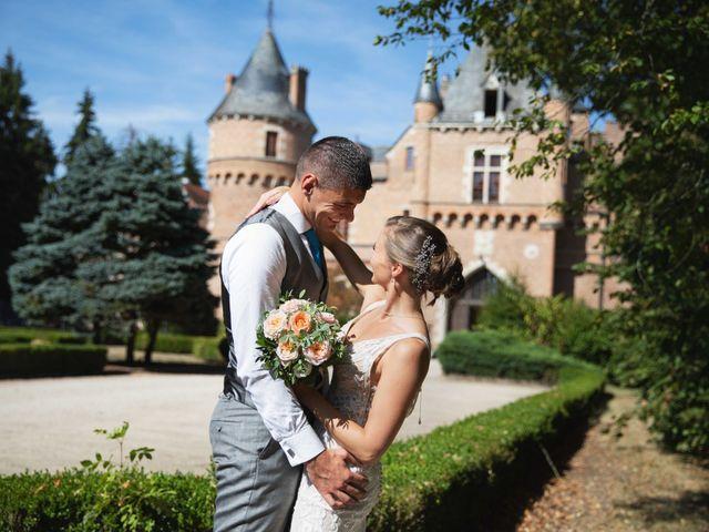 Le mariage de Damian et Katie à Saint-Priest-Bramefant, Puy-de-Dôme 5