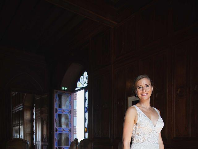 Le mariage de Damian et Katie à Saint-Priest-Bramefant, Puy-de-Dôme 12