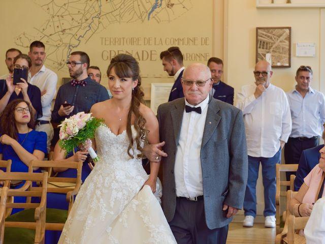 Le mariage de Florian et Armelle à Grenade, Haute-Garonne 31