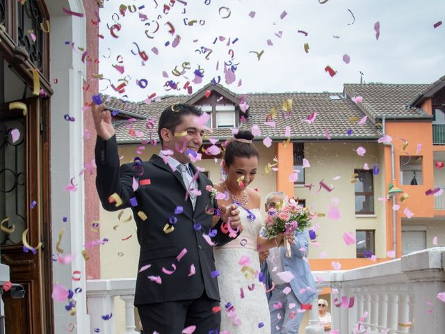 Le mariage de Sandro et Séréna à Douvaine, Haute-Savoie 14