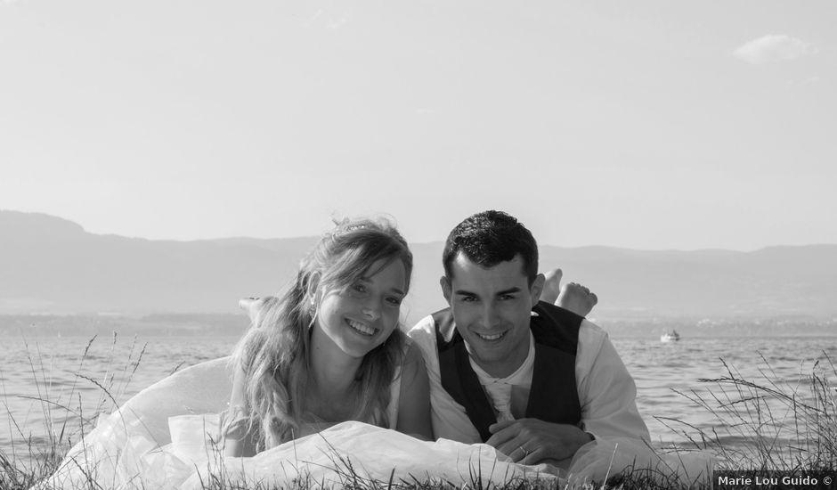 Le mariage de Florian et Elisa à Saint-Cergues, Haute-Savoie