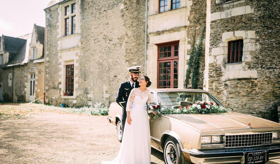 Le mariage de Thomas et Aline à Montreuil-Juigné, Maine et Loire