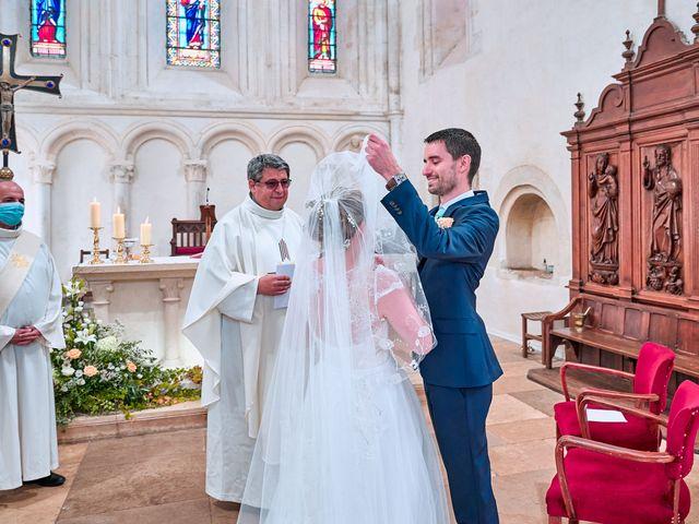 Le mariage de Thierry et Mathilde à Ancy-le-Franc, Yonne 78