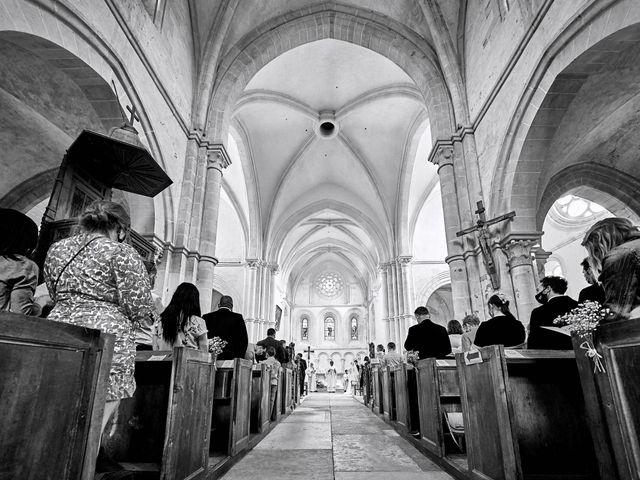 Le mariage de Thierry et Mathilde à Ancy-le-Franc, Yonne 79