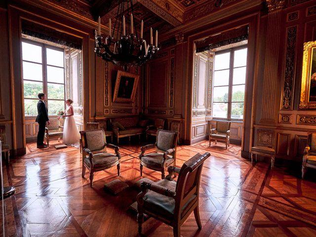 Le mariage de Thierry et Mathilde à Ancy-le-Franc, Yonne 145