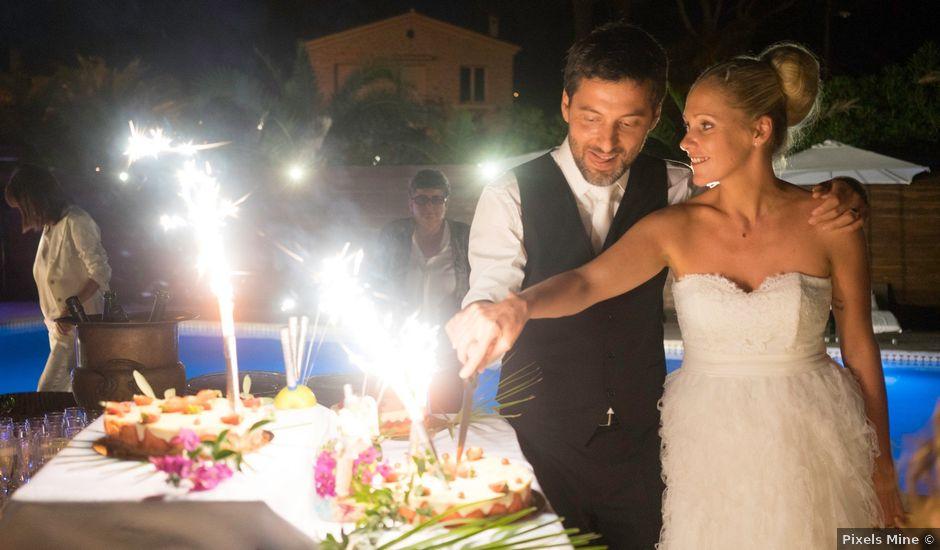 Le mariage de Fred et Marion à Antibes, Alpes-Maritimes