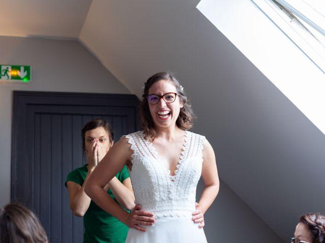 Le mariage de Thomas et Julie à Crosmières, Sarthe 11