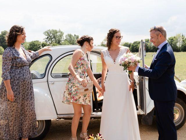 Le mariage de Thomas et Julie à Crosmières, Sarthe 36