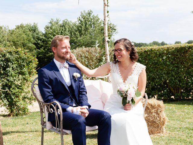 Le mariage de Thomas et Julie à Crosmières, Sarthe 50