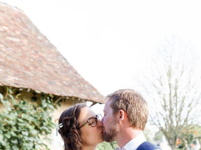 Le mariage de Thomas et Julie à Crosmières, Sarthe 75