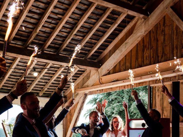 Le mariage de Thomas et Julie à Crosmières, Sarthe 81