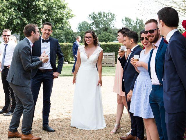 Le mariage de Thomas et Julie à Crosmières, Sarthe 55