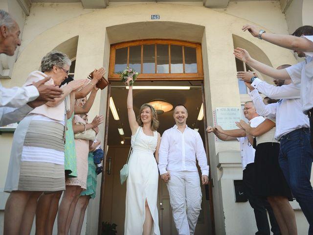Le mariage de Adrien et Aurore à Saint-Just-de-Claix, Isère 1
