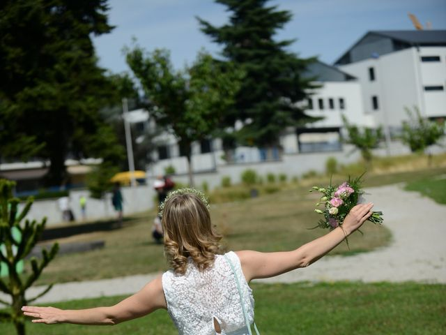Le mariage de Adrien et Aurore à Saint-Just-de-Claix, Isère 5