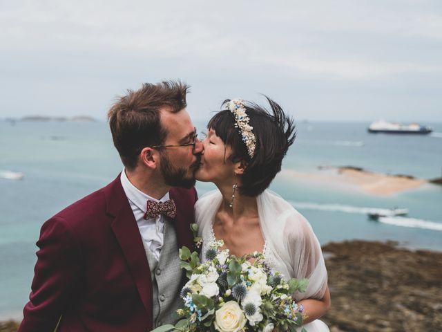 Le mariage de Thomas et Soobin à Dinard, Ille et Vilaine 25