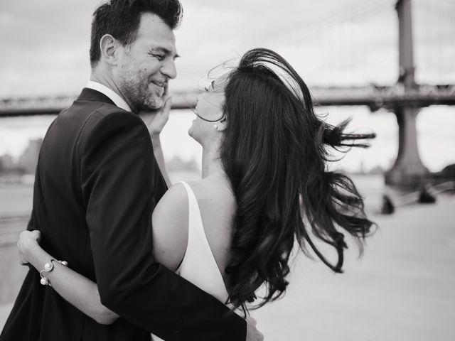 Le mariage de Leandro et Jenette à Paris, Paris 20