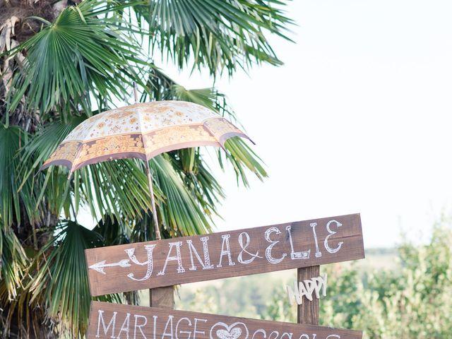 Le mariage de Elie et Yana à Saint-Martial-de-Valette, Dordogne 14
