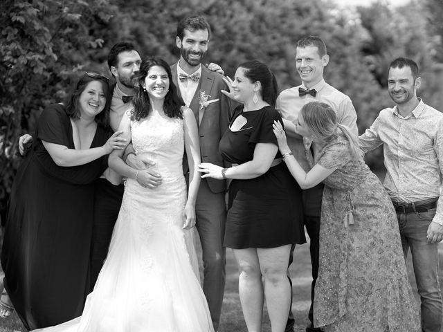 Le mariage de Tony et Jenna à Sennecey-le-Grand, Saône et Loire 28