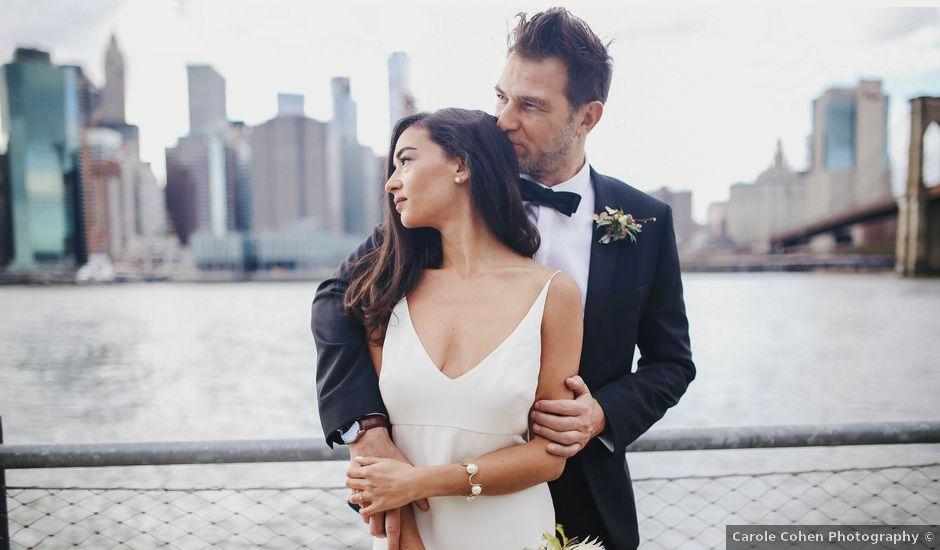 Le mariage de Leandro et Jenette à Paris, Paris