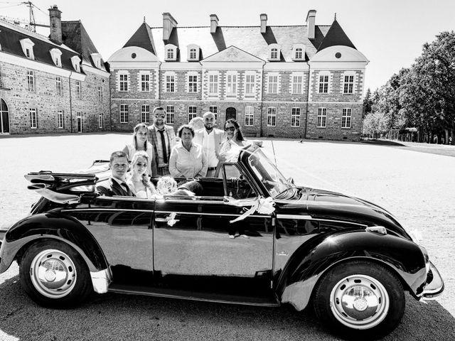 Le mariage de Steven et Ingrid à Goven, Ille et Vilaine 52