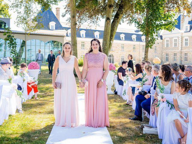Le mariage de Steven et Ingrid à Goven, Ille et Vilaine 53