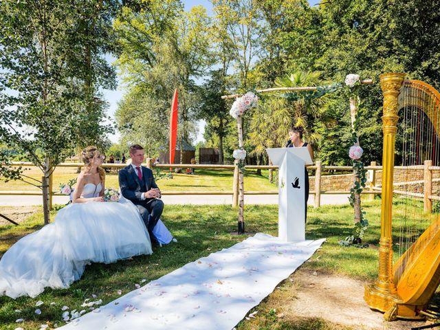 Le mariage de Steven et Ingrid à Goven, Ille et Vilaine 62