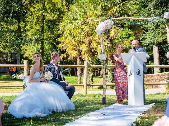Le mariage de Steven et Ingrid à Goven, Ille et Vilaine 73
