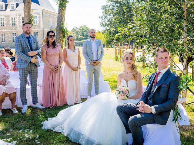 Le mariage de Steven et Ingrid à Goven, Ille et Vilaine 74