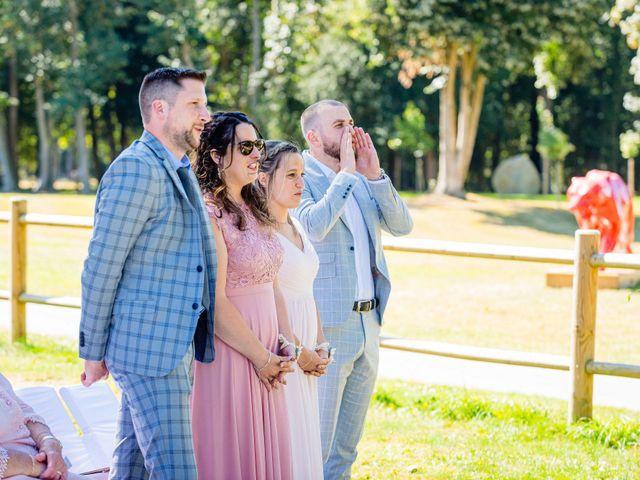 Le mariage de Steven et Ingrid à Goven, Ille et Vilaine 75