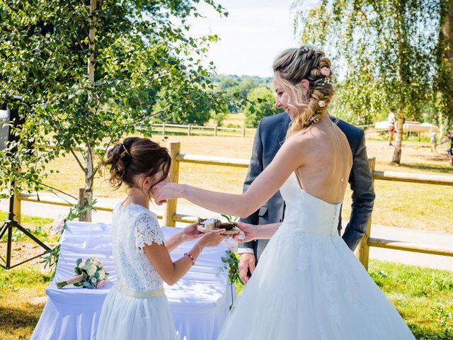 Le mariage de Steven et Ingrid à Goven, Ille et Vilaine 81