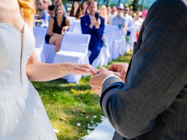 Le mariage de Steven et Ingrid à Goven, Ille et Vilaine 86