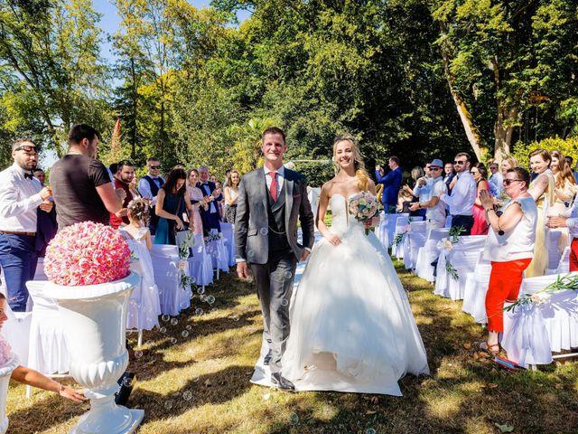 Le mariage de Steven et Ingrid à Goven, Ille et Vilaine 92