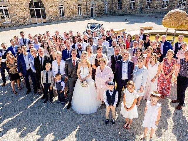Le mariage de Steven et Ingrid à Goven, Ille et Vilaine 94