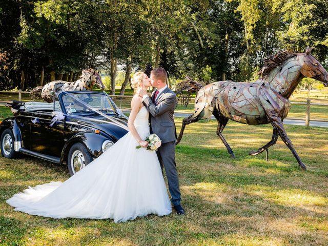 Le mariage de Steven et Ingrid à Goven, Ille et Vilaine 100