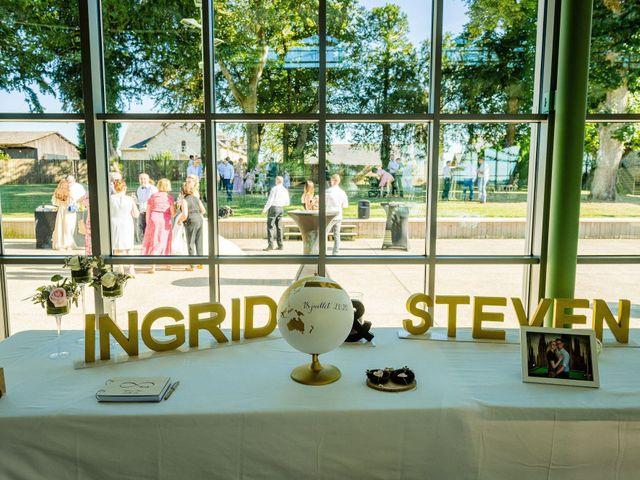 Le mariage de Steven et Ingrid à Goven, Ille et Vilaine 111