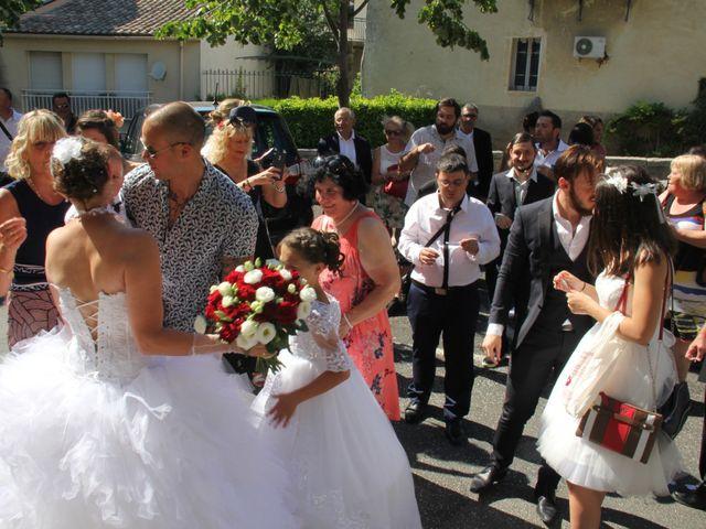 Le mariage de Romuald et Virginie à Clarensac, Gard 56