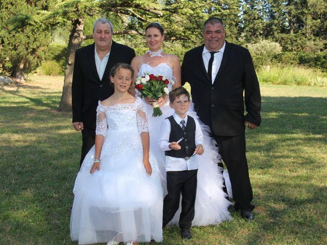 Le mariage de Romuald et Virginie à Clarensac, Gard 106