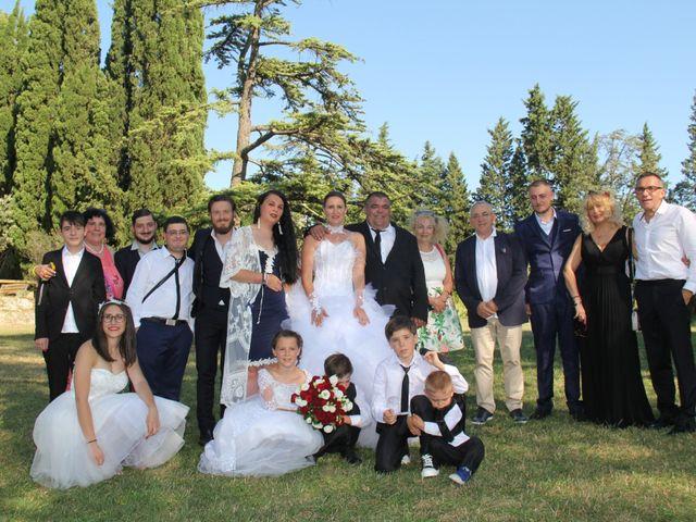 Le mariage de Romuald et Virginie à Clarensac, Gard 117