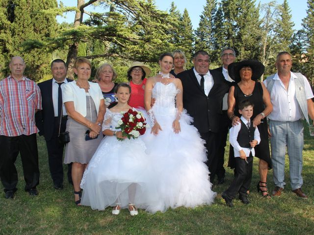 Le mariage de Romuald et Virginie à Clarensac, Gard 121