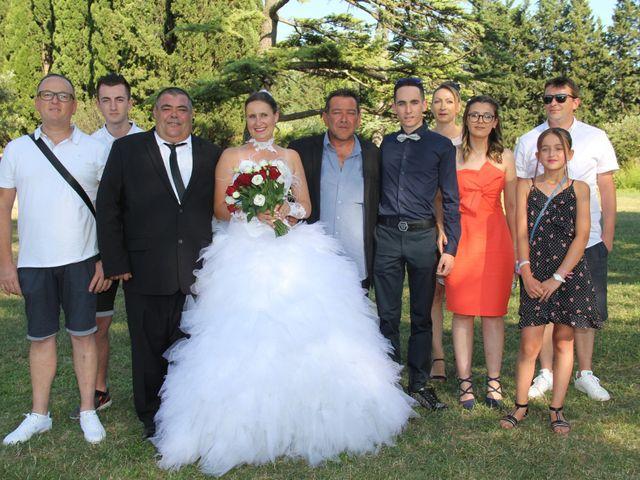Le mariage de Romuald et Virginie à Clarensac, Gard 129