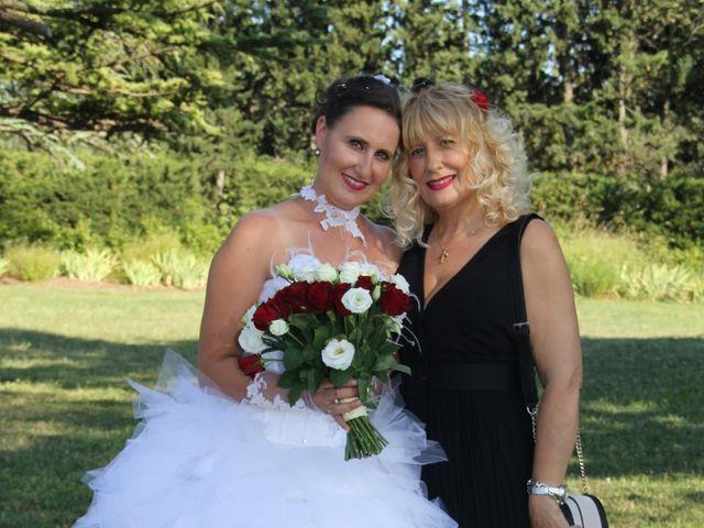 Le mariage de Romuald et Virginie à Clarensac, Gard 132